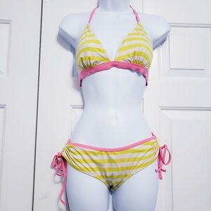 Victoria's Secret PINK Size Small Neon Yellow